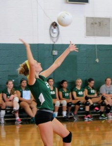 Varsity Volleyball Aces the Season