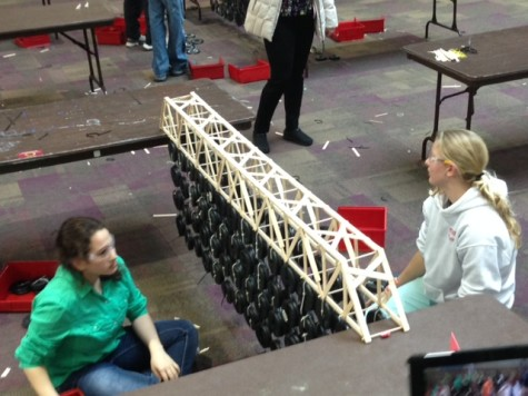 "NPHS Bridge Builders ""Plan to Get First"" at This Year's Competition"