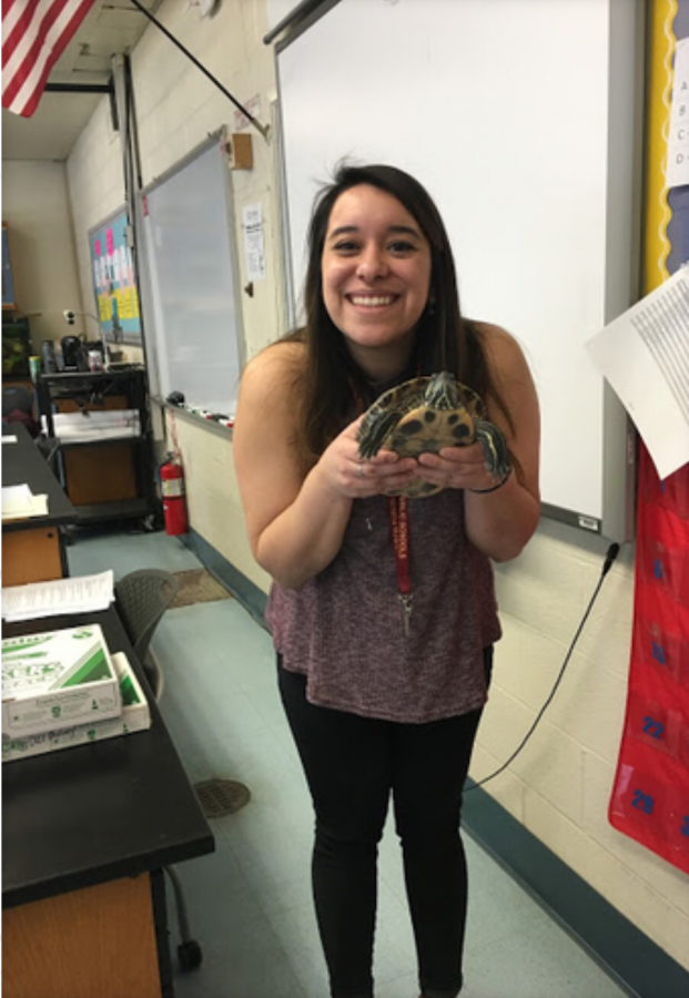 New Biology Teacher Uses Past Experiences to Teach Students