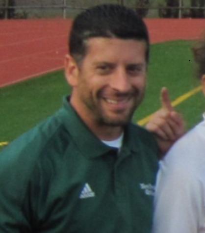 Kicking it with Coach Murphy