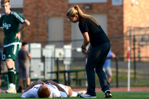 A Day in the Life of an Athletic Trainer:  Jorden Nolan