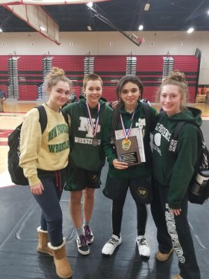 Girls Grapple with Wrestling at NPHS